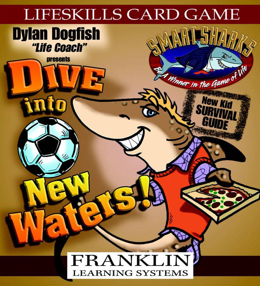 Smart Sharks Dive Into New Waters Card Game - EducationalLearningGames.com