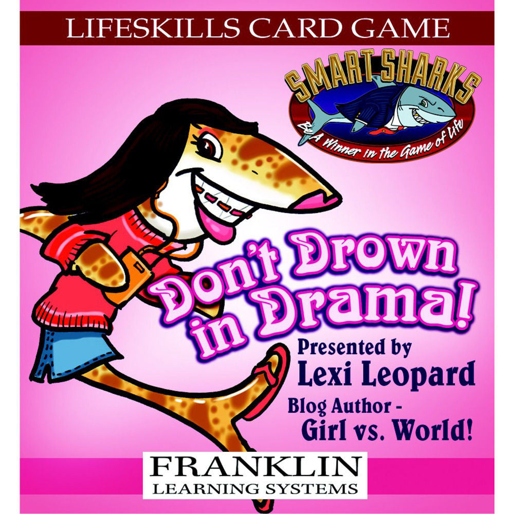 Smart Sharks Don't Drown in Drama Card Game - EducationalLearningGames.com
