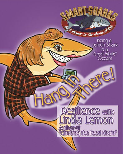 Smart Sharks Hang in There RESILIENCE Card Game - EducationalLearningGames.com