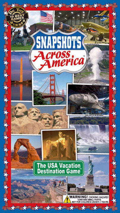 Snapshots Across America Game - EducationalLearningGames.com