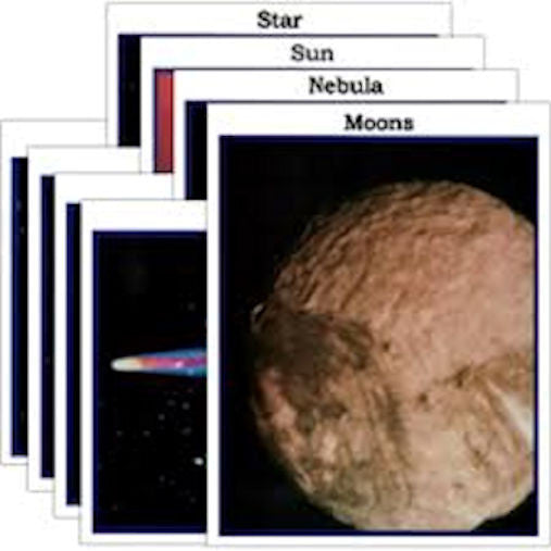 Solar System Photo Activity Cards - EducationalLearningGames.com