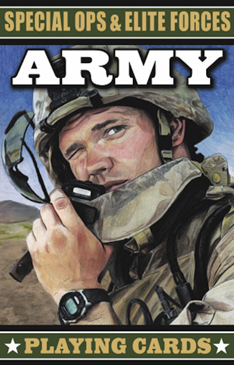 Special Ops and Elite Forces Army Card Deck - EducationalLearningGames.com