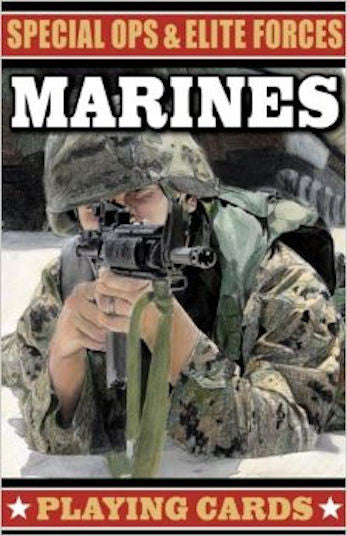 Special Ops and Elite Forces Marines Playing Cards - EducationalLearningGames.com