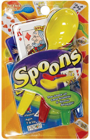 Spoons Card Game Ages 7+