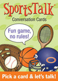 SportsTalk Conversation Cards - EducationalLearningGames.com