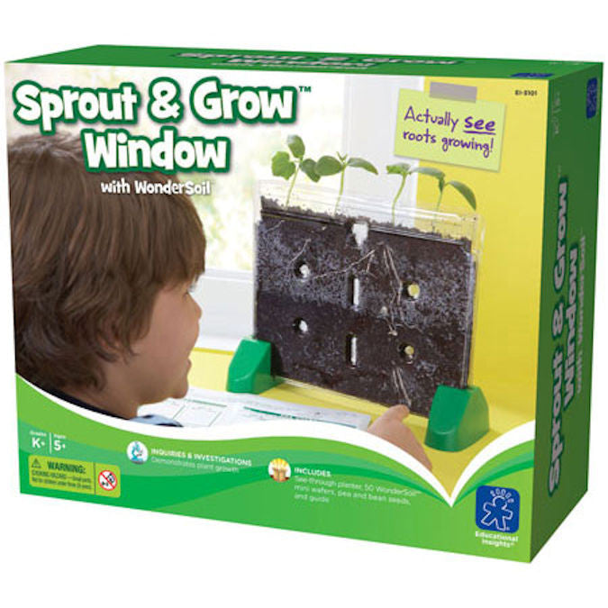 Sprout & Grow Window™ with WonderSoil