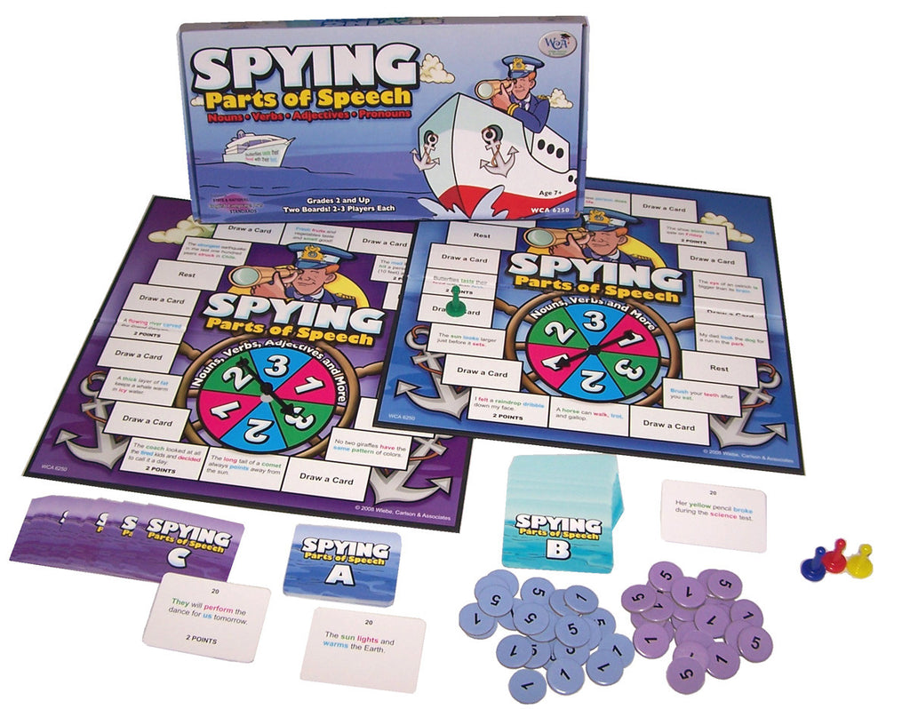 Spying Parts of Speech Game