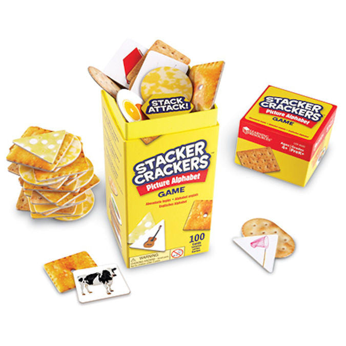 Stacker Crackers™ Picture Alphabet Game