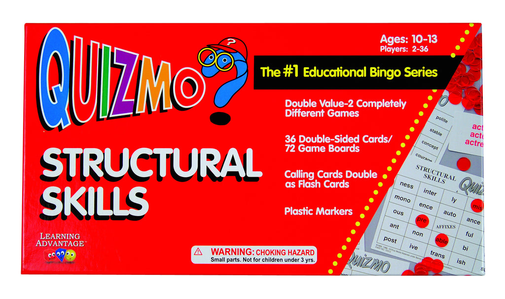 Structural Skills Quizmo Game