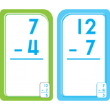 Subtraction 0-12 Flash Cards - EducationalLearningGames.com