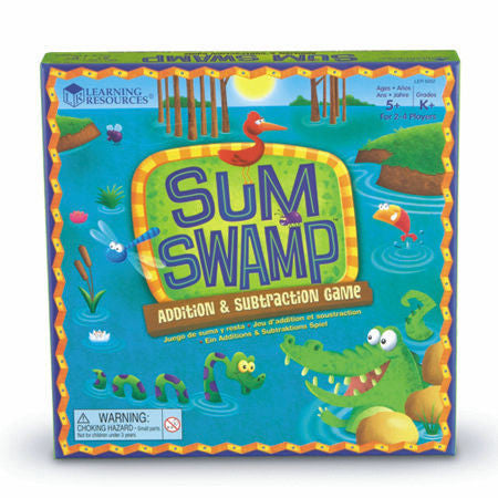 Sum Swamp™ Addition & Subtraction Game