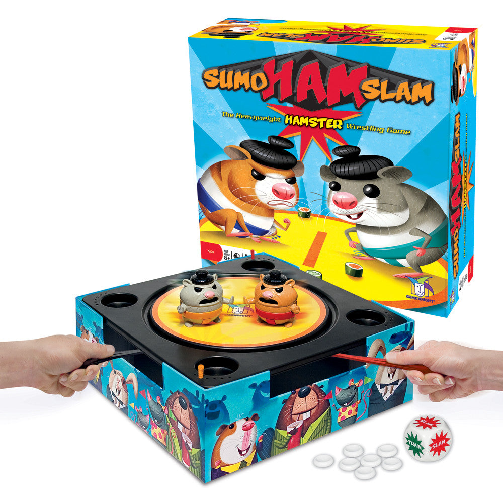 Sumo Ham Slam Game - EducationalLearningGames.com