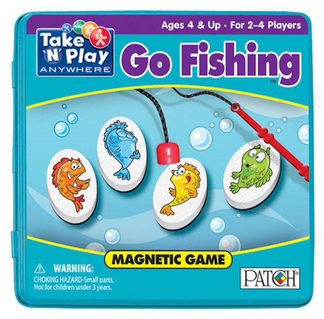 Take 'n' Play Go Fishing Magnetic Game EducationalLearningGames.com