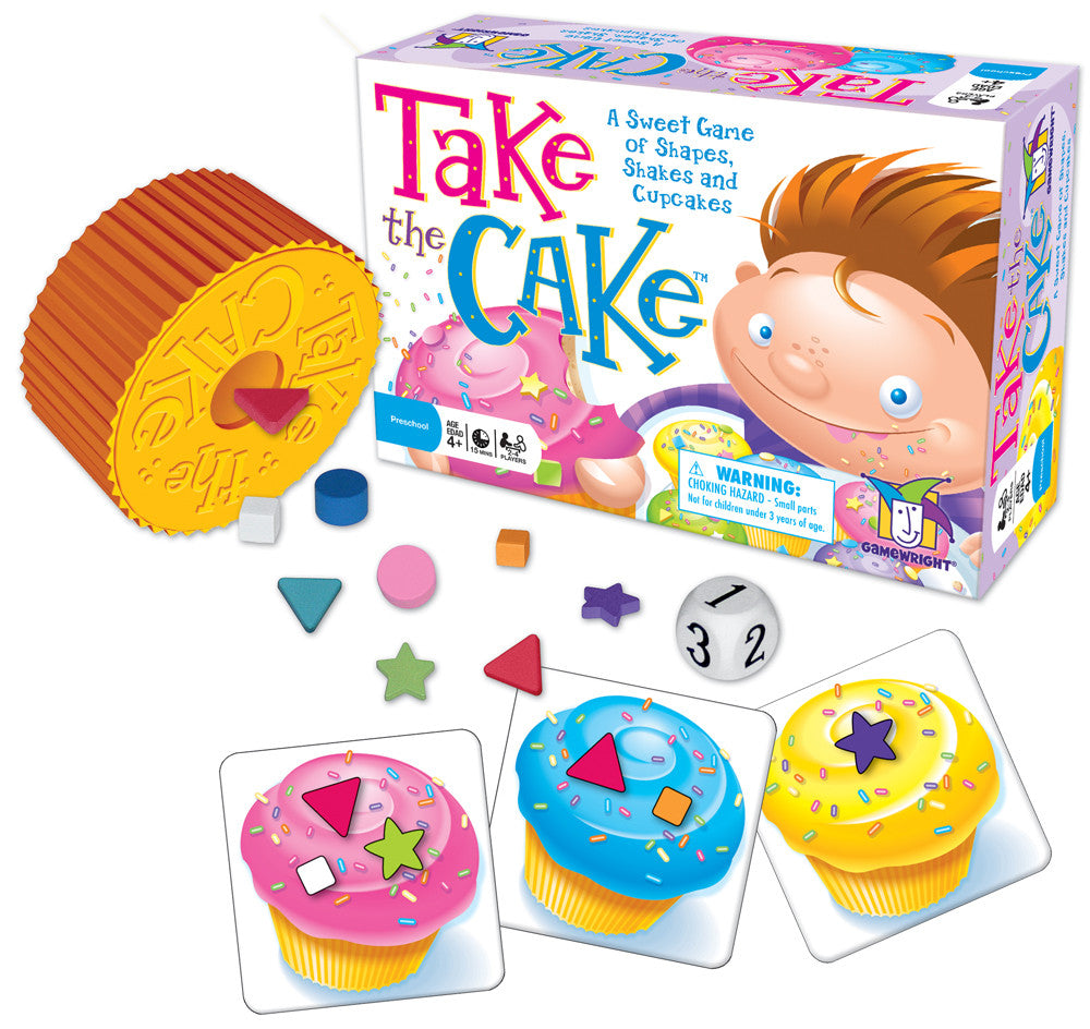 Take the Cake Game - EducationalLearningGames.com