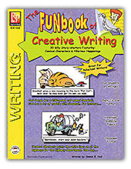 The FUNbook of Creative Writing Workbook - EducationalLearningGames.com