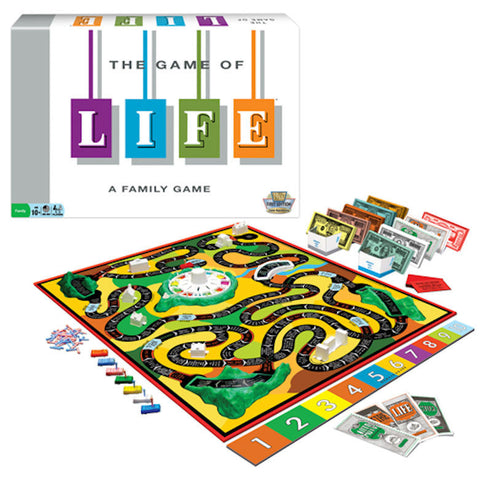The Game of LIFE Classic Edition Game - EducationalLearningGames.com