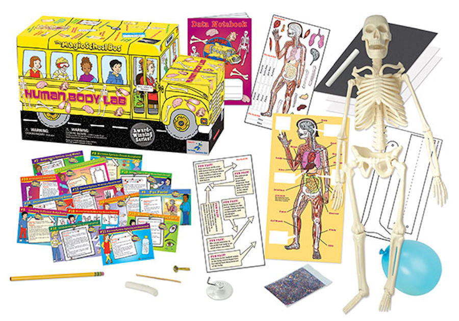 The Magic School Bus A Journey into the Human Body Science Kit