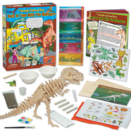 The Magic School Bus Back in Time with the Dinosaurs - EducationalLearningGames.com