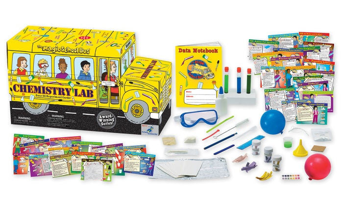 The Magic School Bus Chemistry Lab - EducationalLearningGames.com