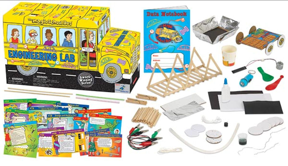 The Magic School Bus Engineering Lab - EducationalLearningGames.com