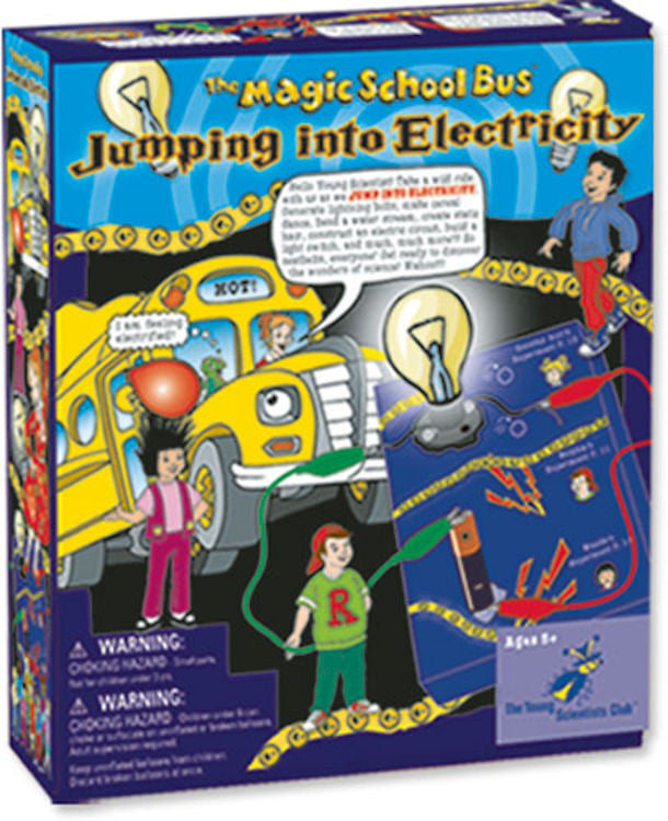 The Magic School Bus Jumping into Electricity Science Kit