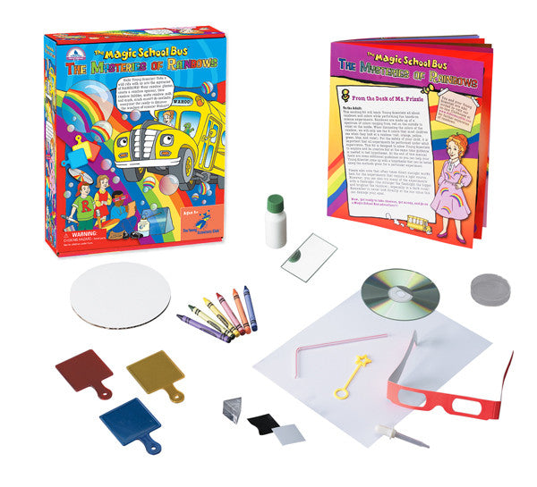 The Magic School Bus Mystery of Rainbows Science Kit EducationalLearningGames.com