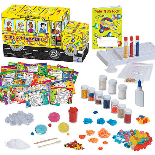 The Magic School Bus Slime and Polymer Lab - EducationalLearningGames.com