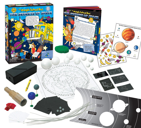 The Magic School Bus The Secrets of Space - EducationalLearningGames.com