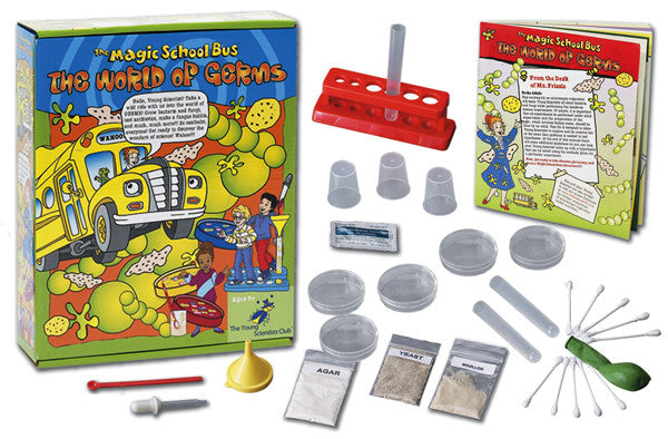 The Magic School Bus The World of Germs Science Kit