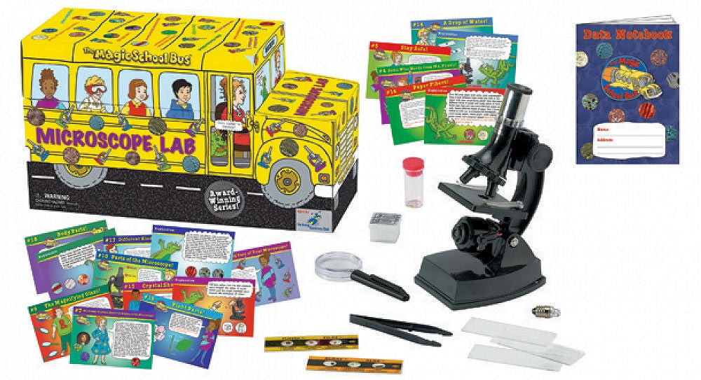 The Magic School Bus Microscope Lab - EducationalLearningGames.com