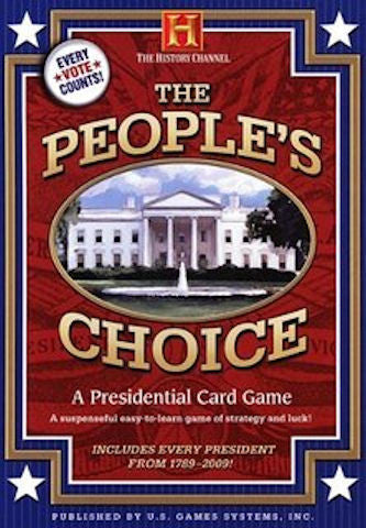 The People's Choice A Presidential Card Game EducationalLearningGames.com