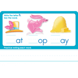 Three-Letter Words Write-On Learning, Interactive Flash Cards - EducationalLearningGames.com