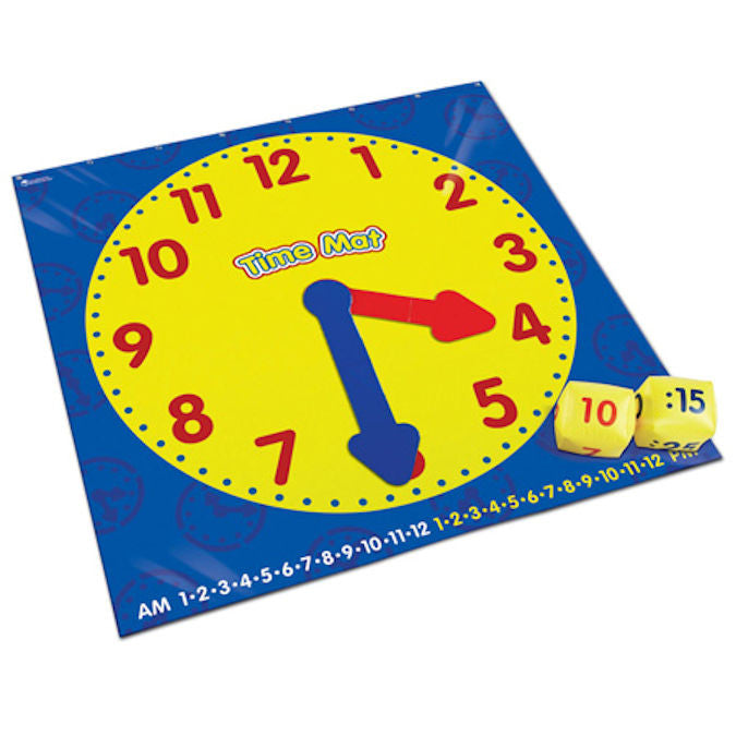 Time Activity Mat Game Floor Game