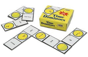 Time Dominoes Game - EducationalLearningGames.com