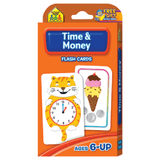 Time & Money Flash Cards - EducationalLearningGames.com