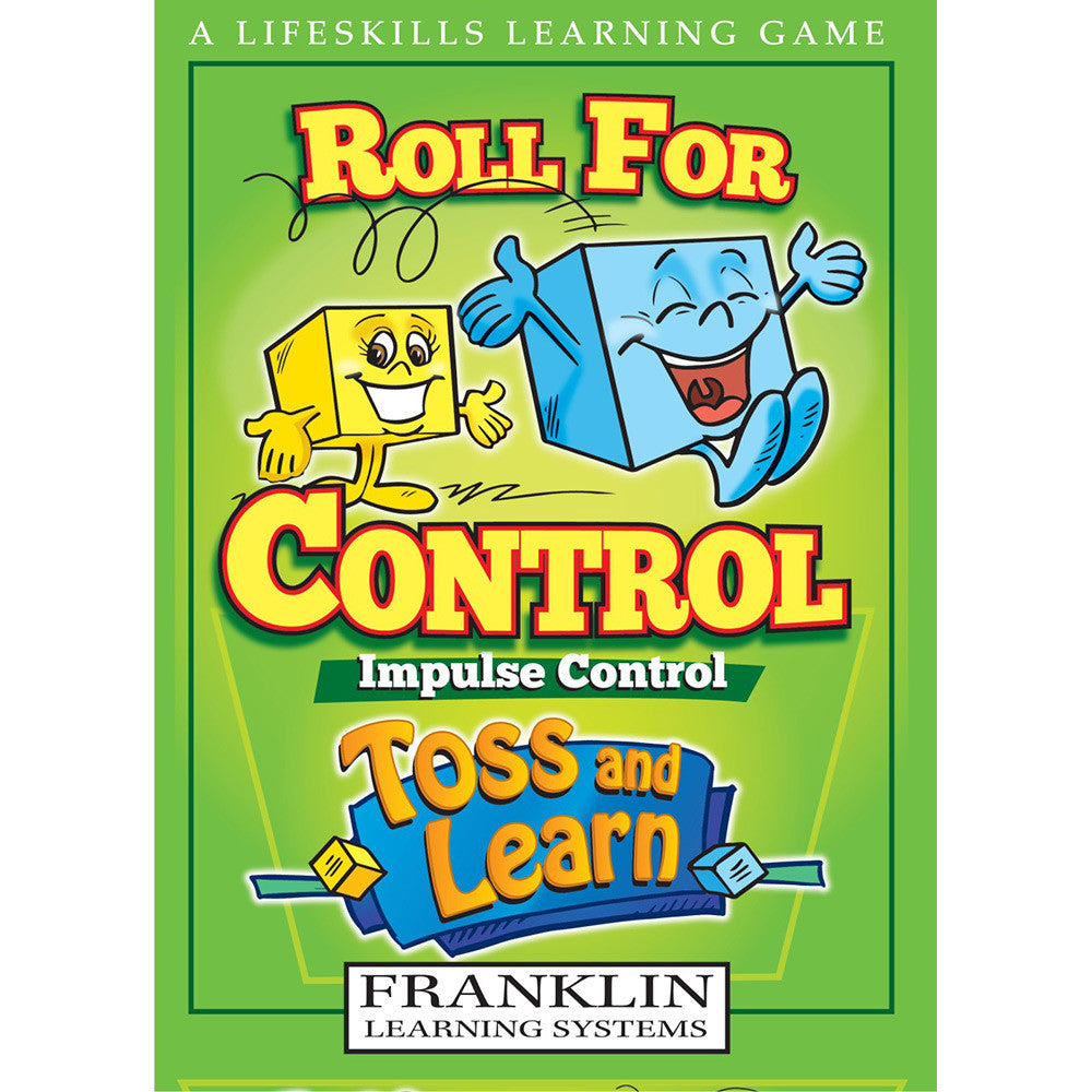 Toss and Learn Roll for Control Impulse Control Game - EducationalLearningGames.com