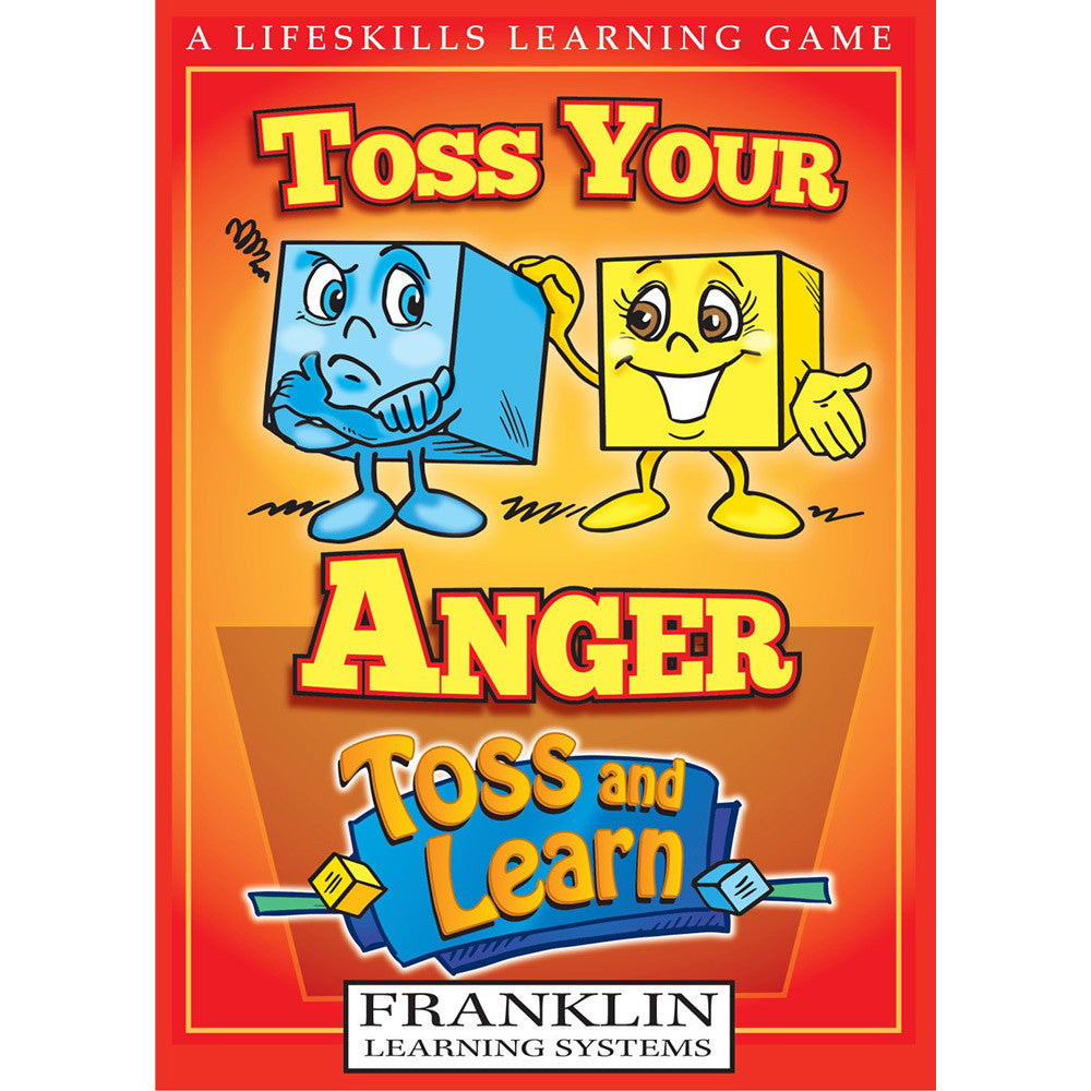 Toss and Learn Toss Your Anger - EducationalLearningGames.com