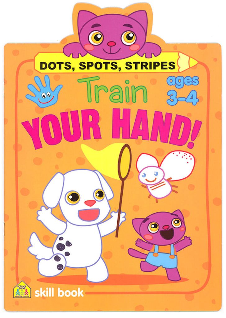 Train Your Hand! Dots, Spots, Stripes Workbook - EducationalLearningGames.com