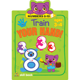 Train Your Hand! Numbers 0-10 Workbook - EducationalLearningGames.com