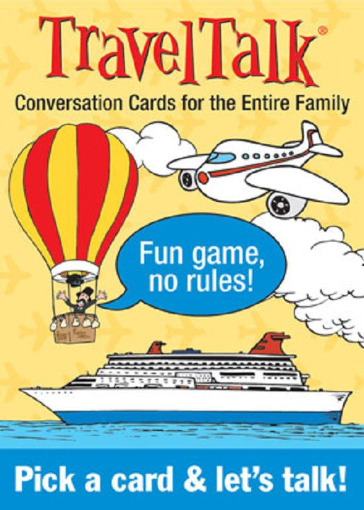 TravelTalk Conversation Cards Travel Talk - EducationalLearningGames.com