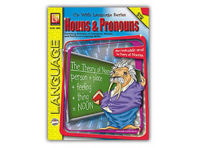Up With Language Series Nouns and Pronouns Workbook - EducationalLearningGames.com