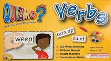 Verbs Quizmo Game - EducationalLearningGames.com