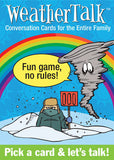 WeatherTalk Conversation Card Game Weather Talk - EducationalLearningGames.com