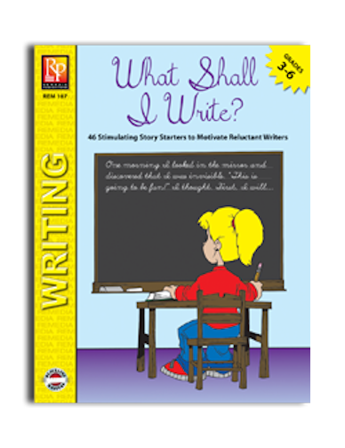 What Shall I Write? Workbook - EducationalLearningGames.com