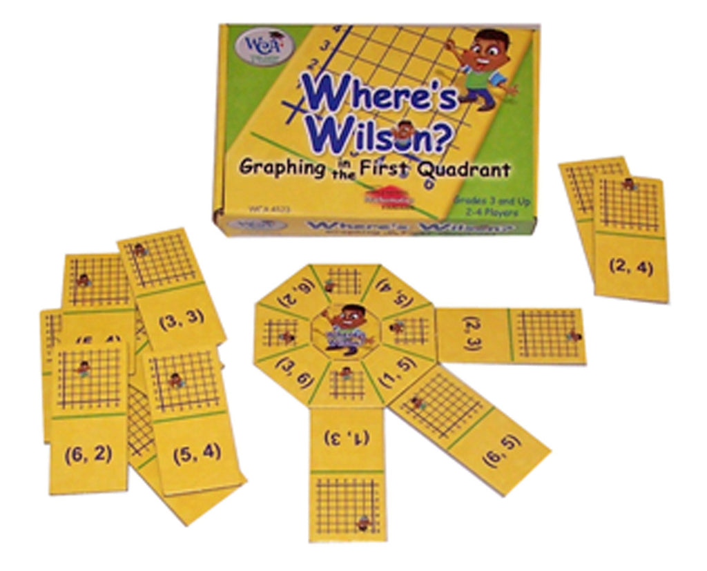 Where's Wilson? Graphing in the First Quadrant Game