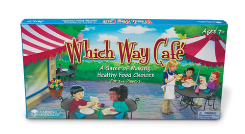 Which Way Cafe Nutrition Game EducationalLearningGames.com