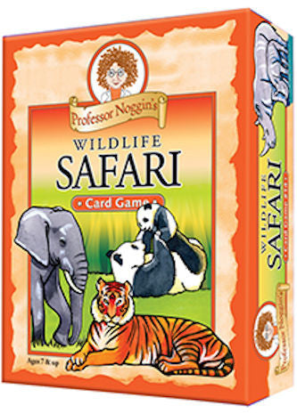 Wildlife Safari Professor Noggin's Card Game - EducationalLearningGames.com