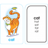 Word Families Flash Cards - EducationalLearningGames.com