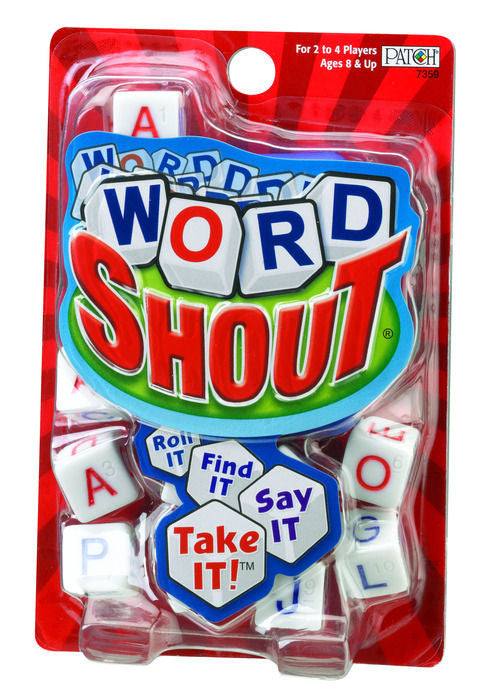 Word Shout Game Ages 8 - Adult