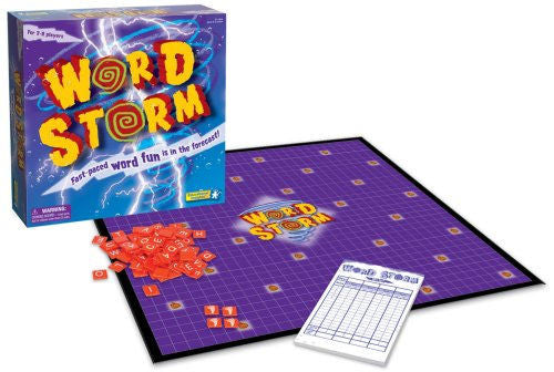 Word Storm Game Ages 8 to Adult